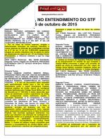 Estelionato- Stf e Stj