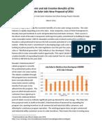 Vote Solar-NV DG Econ Benefits Study