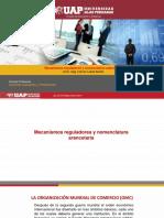 semana 11 Mecanismos reguladores y nomenclatura arancelaria