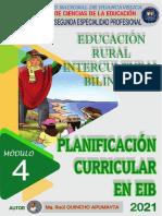 4_MÓDULO_ERIB_PLANIFICACIÓN CURRICULAR EN EIB_2021
