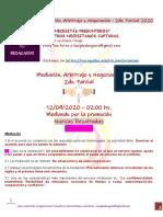 12-09-2020 2do parcial Mediación, Arbitraje y Negociación 2do. Parcial Rezagados.