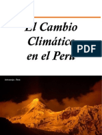 El Cambio Climatico en el Perú