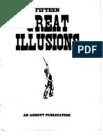 MAGIC FIFTEEN GREAT ILLUSIONS - AN ABBOTT PUBLICATION ARM