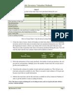 Periodic Inventory Valuation Methods