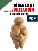GORDON CHILDE -los-origenes-de-la-civilizacion