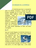 Diario de un zoólogo en la Antártida
