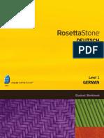 German Level 1 - Student Workbook