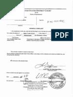 Robbins, Sterlynn Complaint Affidavit