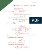 Banco de Questões UFAL - Prova I Calculo II 04/2014