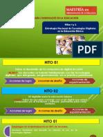 Hitos 1-2 - Estrategia educación digital