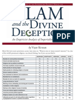 Islam and the Divine Deception-TABLOID Distribution