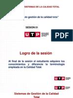 SESION 01 .-Teorías de Gestión y Sistemas de la Calidad Total