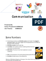 Online Communication Industry analysis