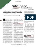Artigo (teoria acido-base) - Trabalho