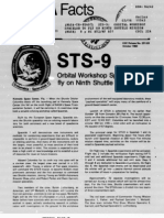 NASA Facts STS-9 Orbital Workshop Spacelab to Fly on Ninth Shuttle Mission