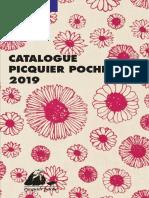 Catalogue Poche 2019