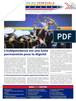 Venezuela Informează| Buletin Săptămânal 09.07.2021 - versiune limba franceza