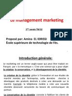 Le management marketing