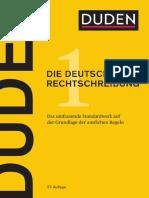 Duden 1.Die deutsche Rechtschreibung-necelosna
