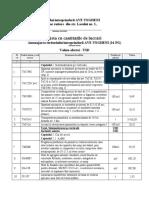 """Caietul de Sarcini privind reabilitarea teritoriului ÎM """"AVE Ungheni"""" și a căii de acces din str. Lacului nr. 1"""