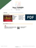 [Free Scores.com] Tohihen Davy Un Coeur Qui a Coute 43222