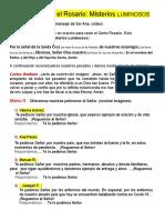 Guía Para Rezar El Rosario Patty (Autoguardado)