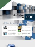 TÓPICO 2 - INTERAÇÃO COM OS MATERIAIS DE AULA