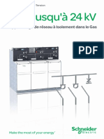 Appareillage de réseau à Isolement dans le Gas - jusqu'à 24 kV