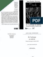 De l'Esclavage Au Salariat Économie Historique Du Salariat Bridé - Yann Moulier Boutang