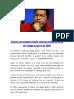 Chávez se fortalece hacia presidenciales de 2012 sin llegar a apoyo de 2006