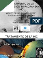 Tratamiento de La Hipertension Intracraneana
