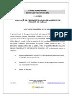 LAUDO FRENAGEM - CAB 2 - TCI. MAIO 2021