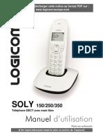 Logicom Soly 350 Wireless Phone