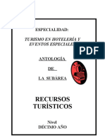 ANTOLOGÍA DE RECURSOS 10º