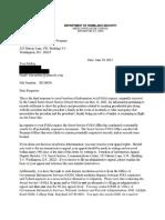 U.S. Secret Service FOIA Response to Gizmodo Regarding Plans on Record for Protecting Presidential Pets