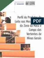 Livro Perfil Do Produtor de Leite Nas Mesorregioes