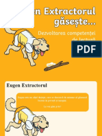 Eugen Extractorul gaseste – Prezentare PowerPoint