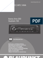 Blaupunkt Buenos Aires 200 user manual
