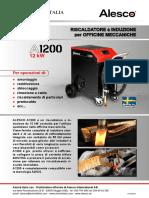 Alesco A1200 brochure italiano