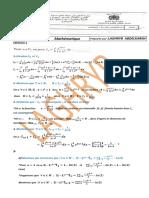 تصحيح مبارة الولوج  الى مسلك تاهيل اساتذة  التعليم  الثانوي الاعدادي 2012