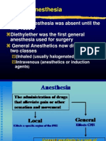 anaesthesia general