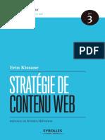 03 Stratégie de contenu Web - Erin Kissane