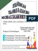 Poster Tilawah & Azan 3
