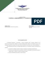Clinica Gineco - obstetrica I