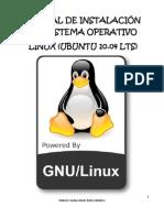 MANUAL DE INSTALACIÓN DEL SISTEMA OPERATIVO LINUX (UBUNTU 10.04 LTS)