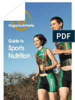 OrganicAthlete Guide to Sports Nutrition