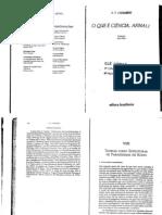 06. Chalmers, AF. Teorias Como Estruturas - Os Paradigm As de Kuhn