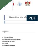 Matemática para o TopCoder