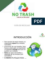 GUIA DE RECICLAJE - NO TRASH