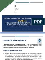 Clase 1 - Socialización Programa - El Estado y su evolución histórica - Timoteo Tobar Salazar